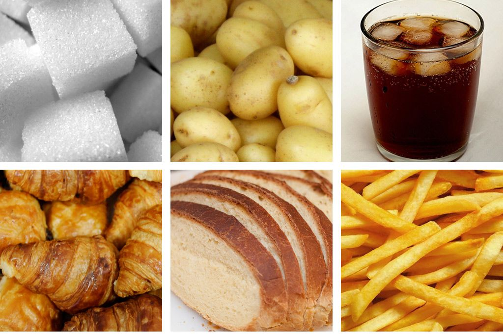 refined carbohydrate foods examples | carbohydrates | food, complex