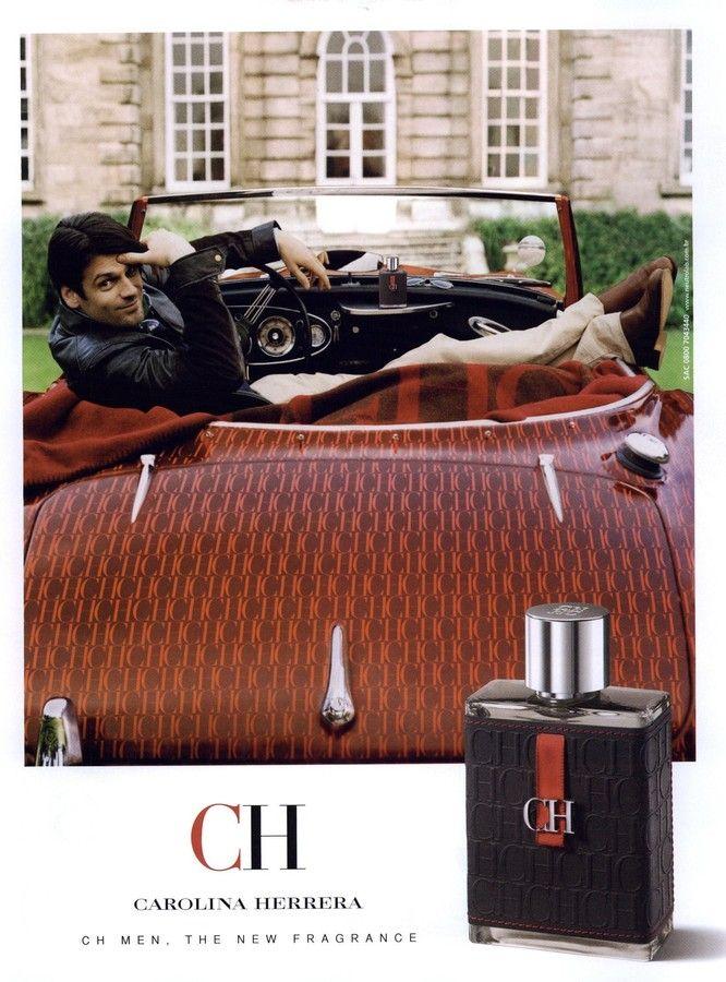 CH Men by Carolina Herrera.   Parfum homme, Parfum, Publicité