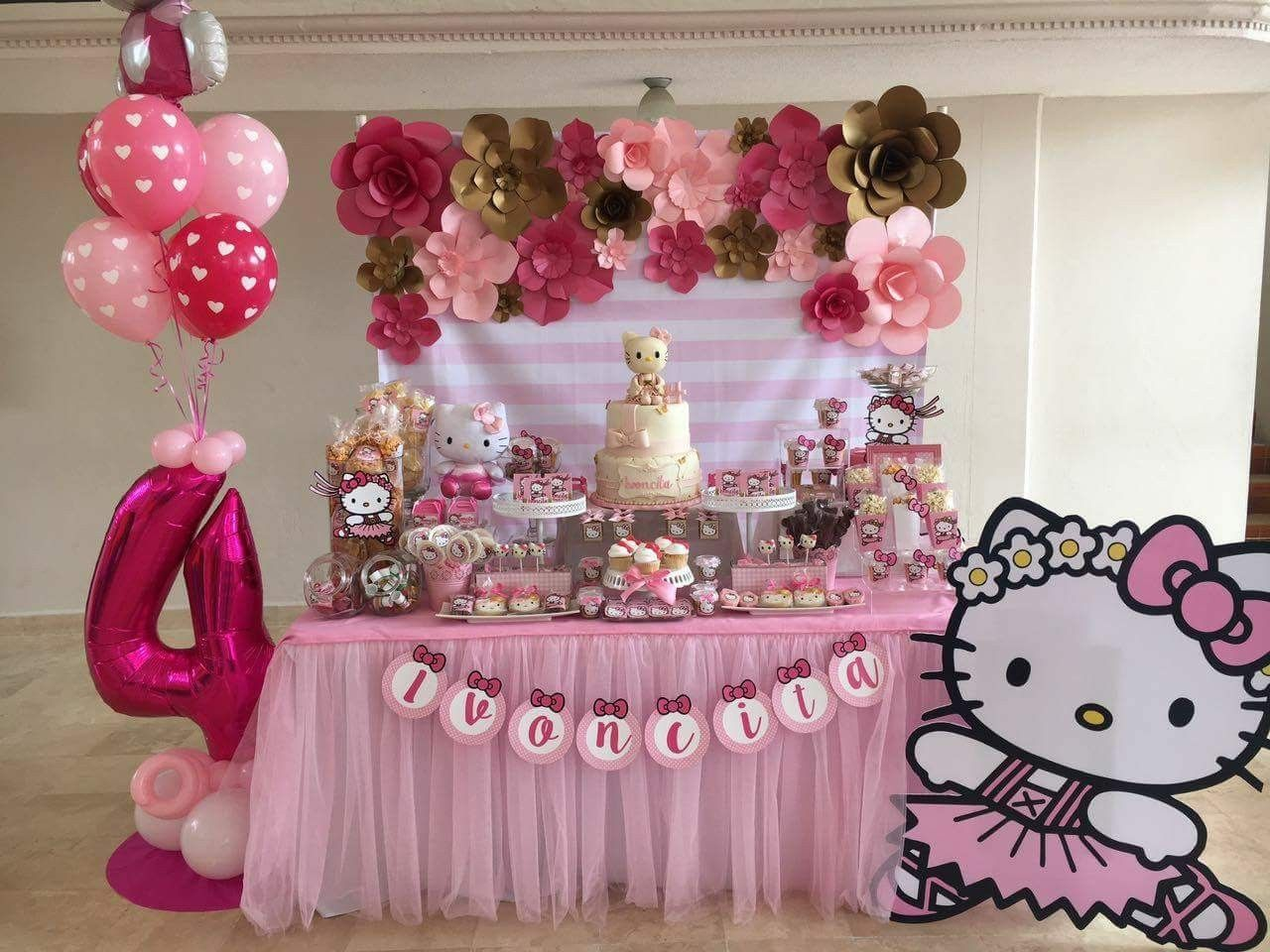 Pin By Alexis On Hello Kitty Hello Kitty Birthday Party Hello Kitty Birthday Decorations Hello Kitty Theme Party