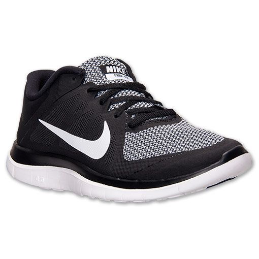 newest c48d6 d0082 ... best womens nike free 4.0 v4 running shoes finish line black white wolf  grey i love
