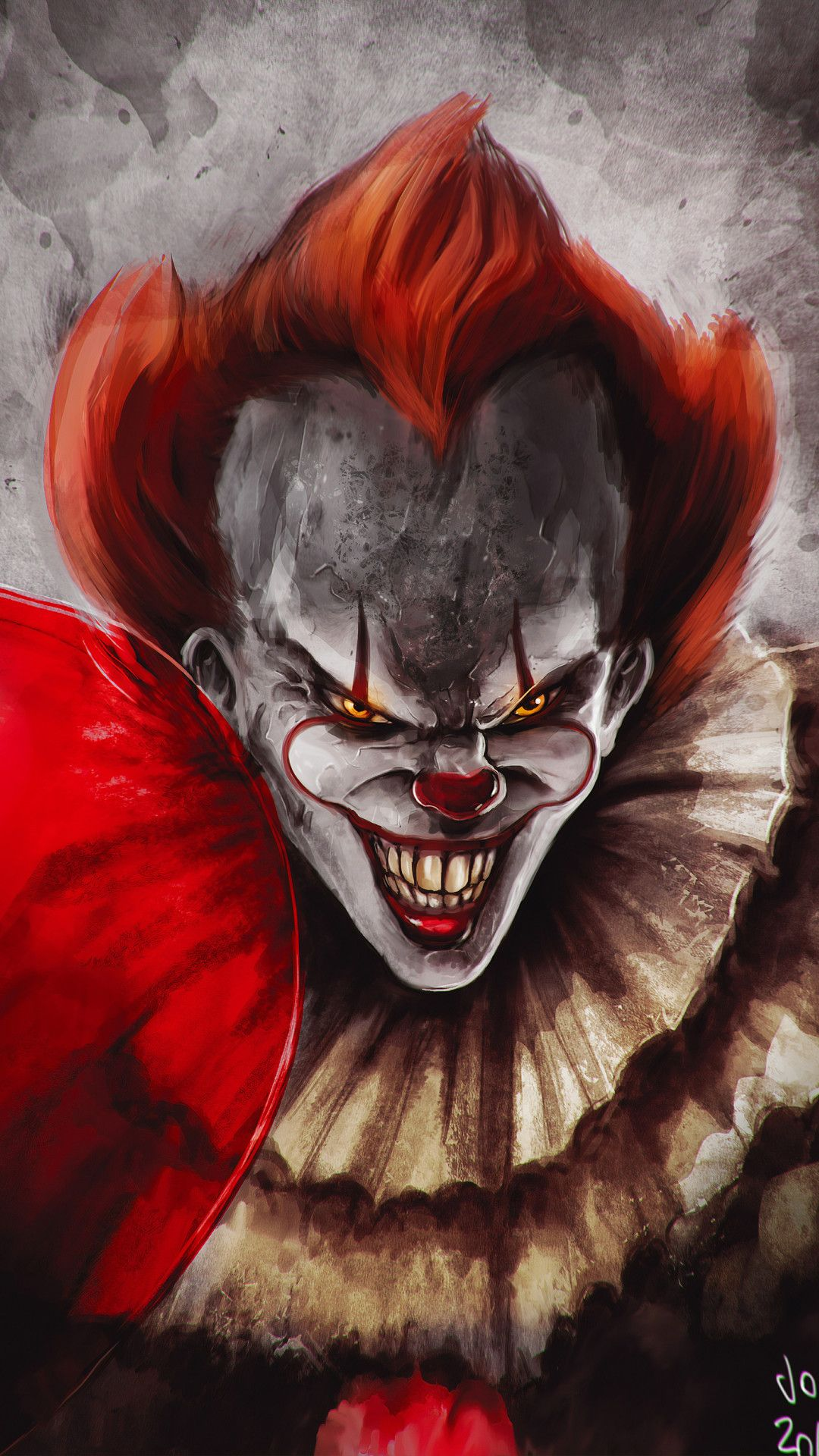 Pennywise Joker Mobile Wallpaper Iphone Android Samsung Pixel Xiaomi In 2020 Joker Mobile Wallpaper Joker Wallpapers Pennywise
