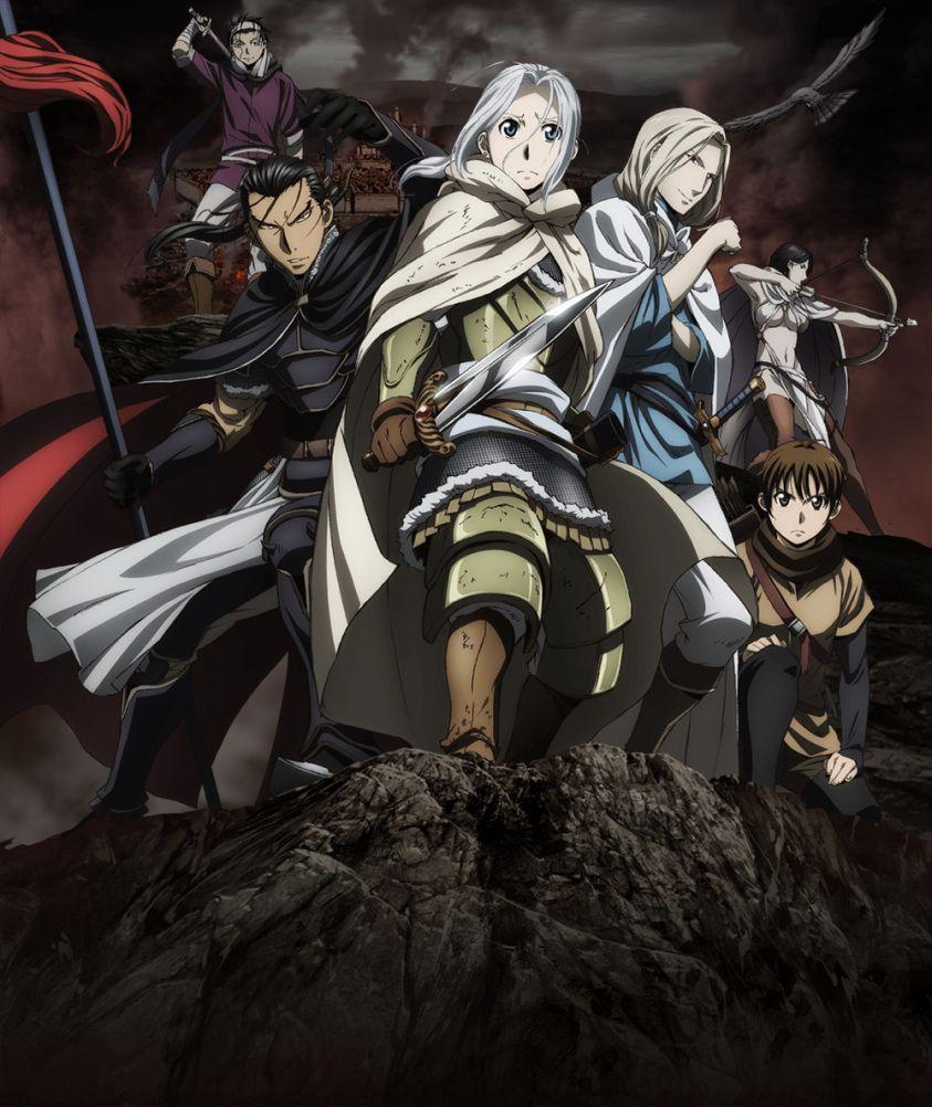 New anime series airing in 2016 arslan senki the heroic