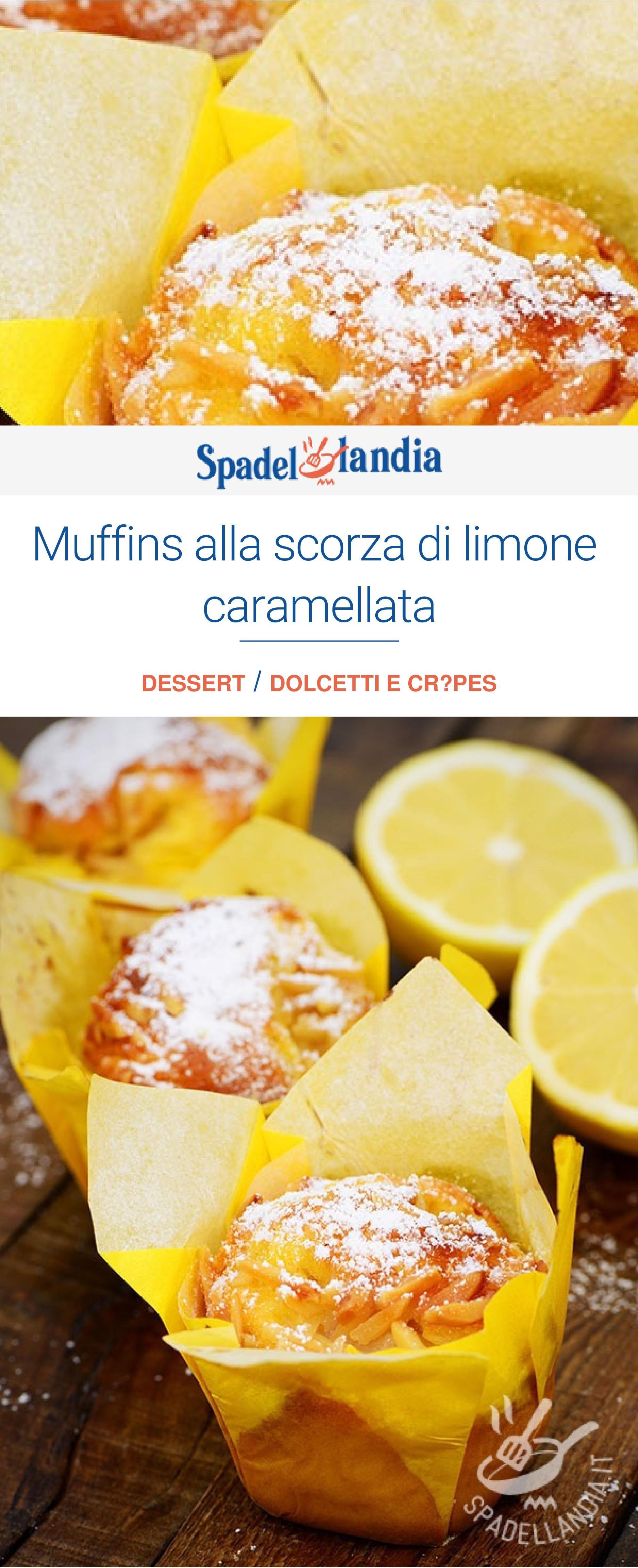 Photo of Muffins alla scorza di limone caramellata