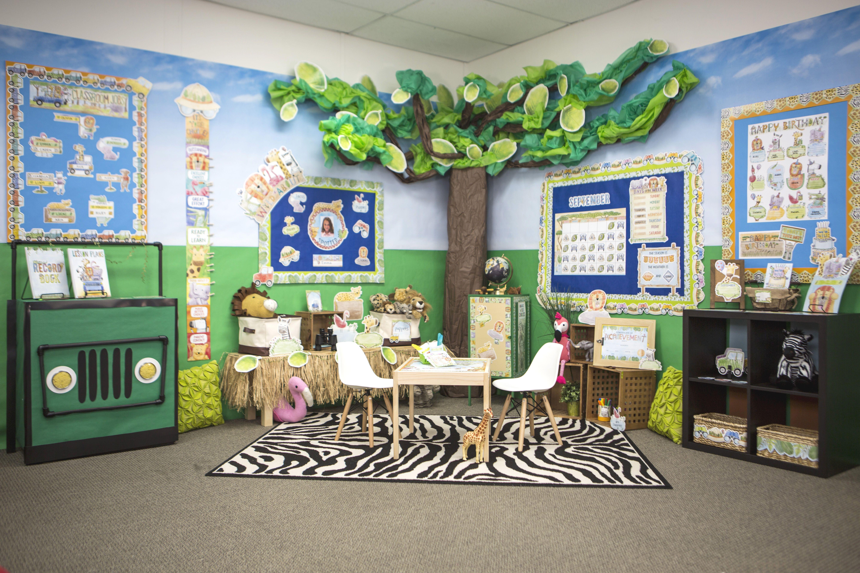 Safari Friends Classroom Jungle Theme Classroom Decorations