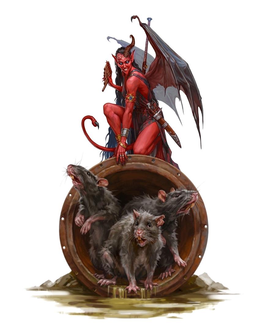 Female Devil Imp Blosodriette Pathfinder Pfrpg Dnd Dd 35 5th