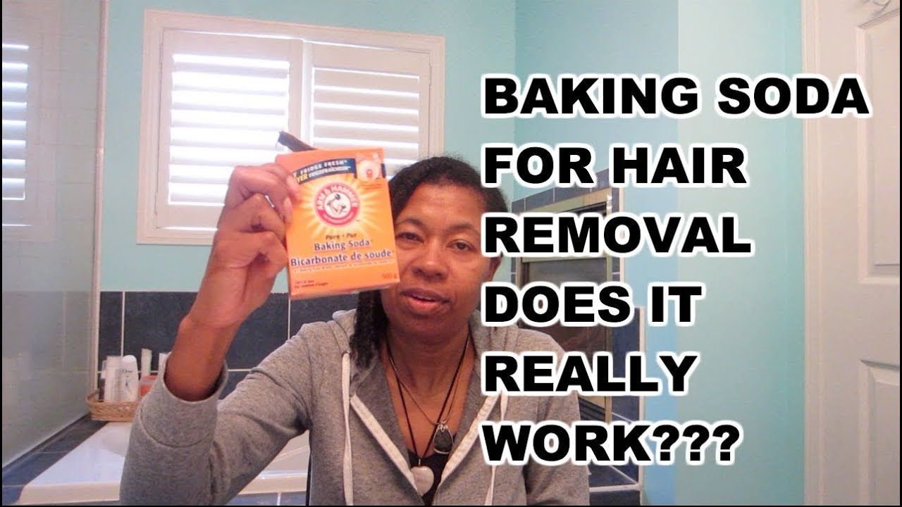 Baking Video - BAKING SODA FOR HAIR REMOVAL  DOES IT REALLY