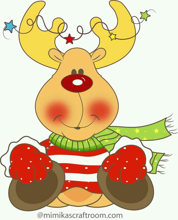 K Imagenes De Renos Renos Navideños Dibujo De Navidad