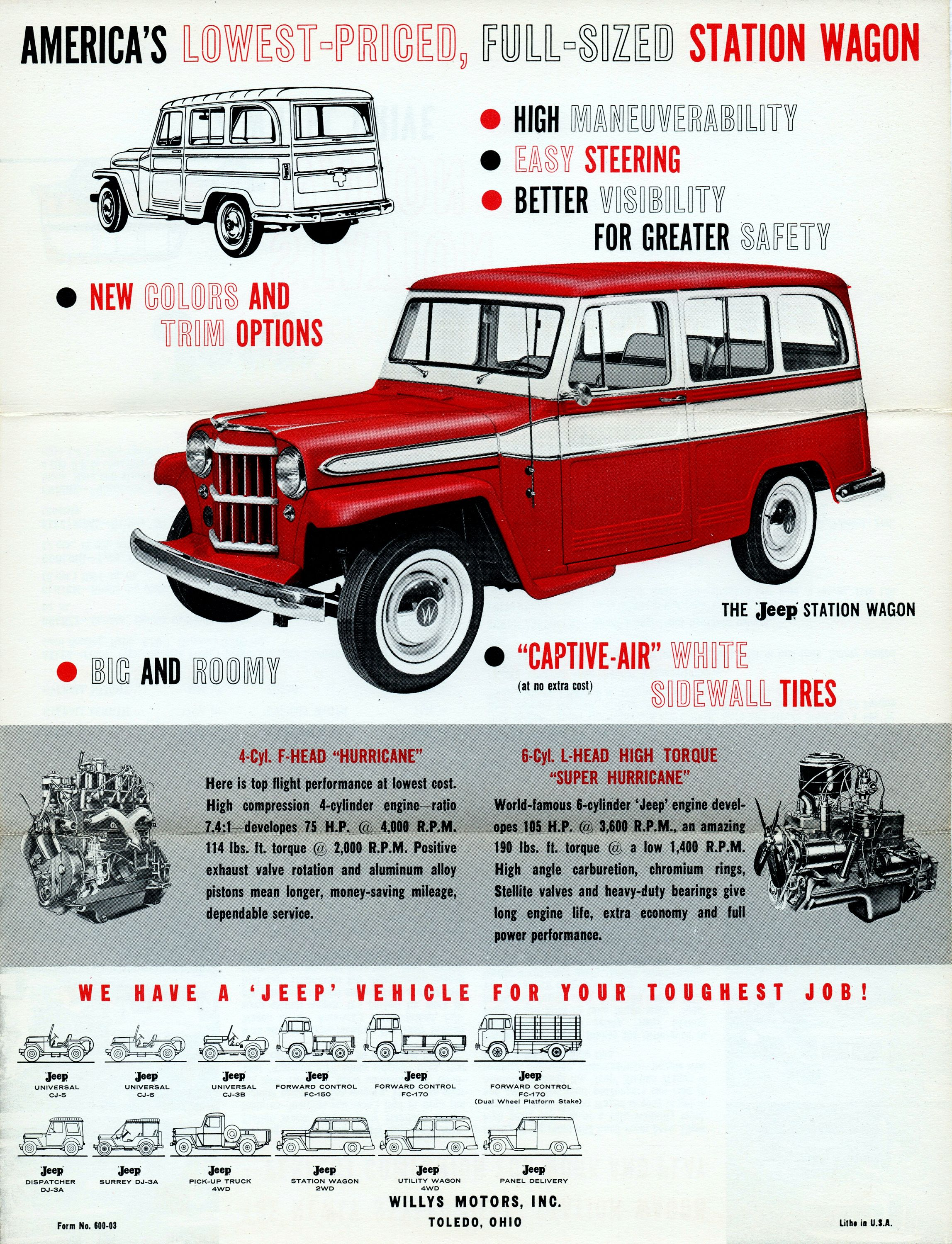 America S Lowest Priced Full Sized Station Wagon The Jeep