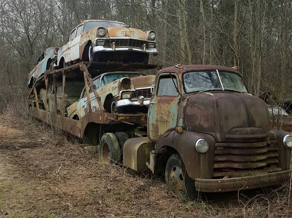 A whole truck and trailer of sadness. | rust in PEICES | Pinterest ...