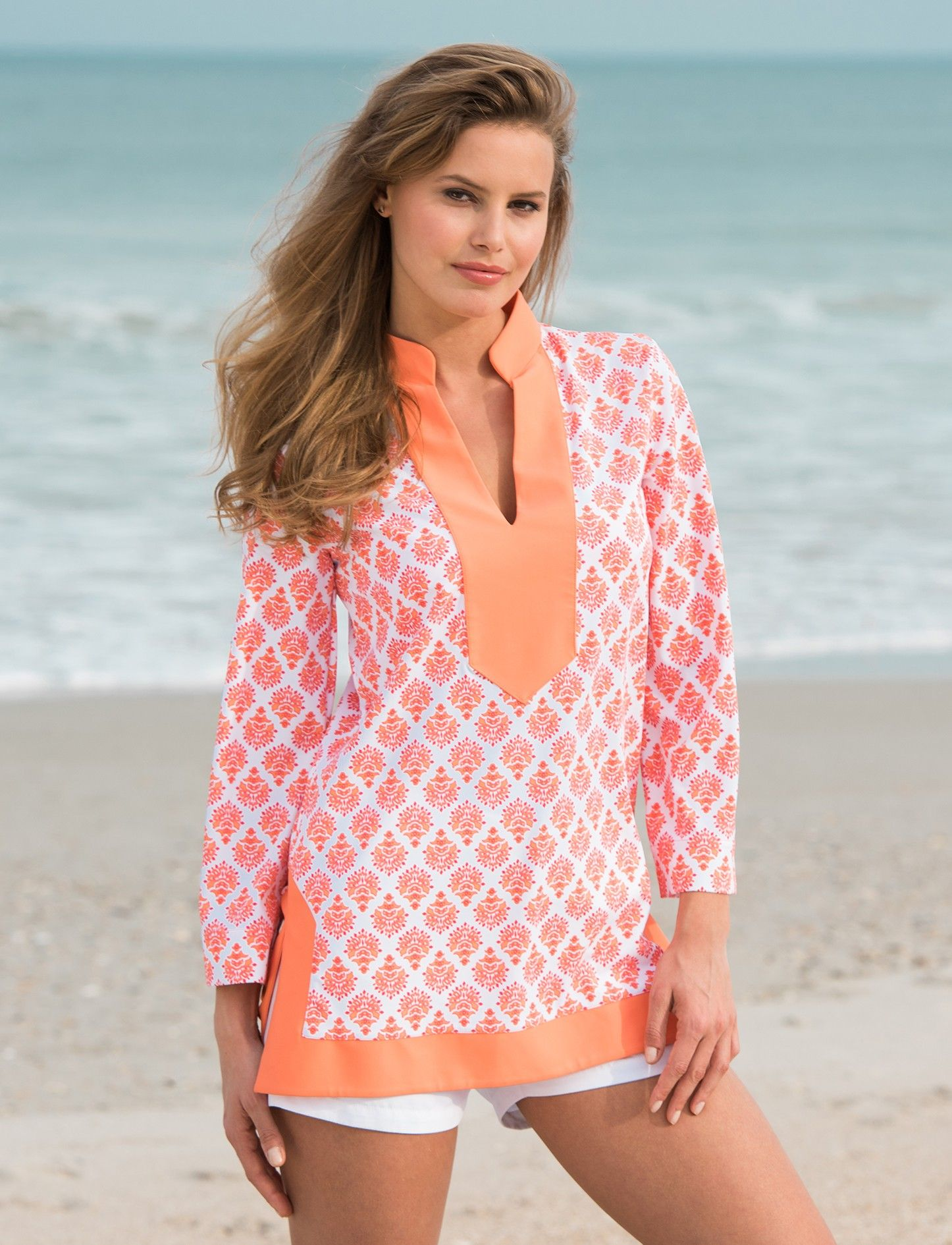 125e348f69 Nantucket Sound Tunic Top, Cabana Life 50+ Uv Protection | Sun ...