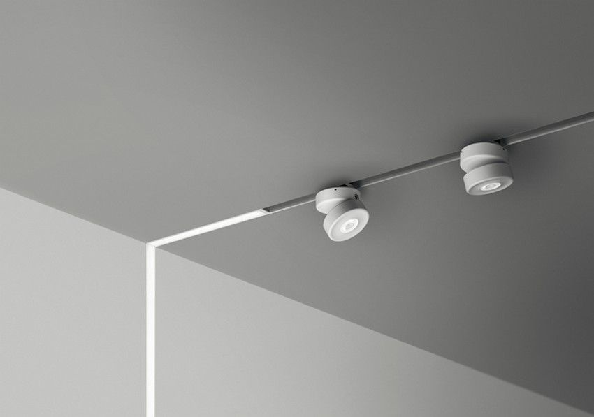 Innovative Lighting Fixture On A Low Voltage Power Magnetic Track