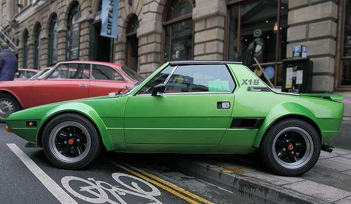 Fiat X1 9 Abarth Bertone Profile View C1978 Motos Carros E
