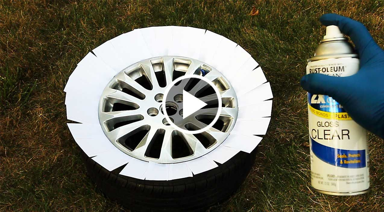 How to easily repair rims with curb rash or scratches