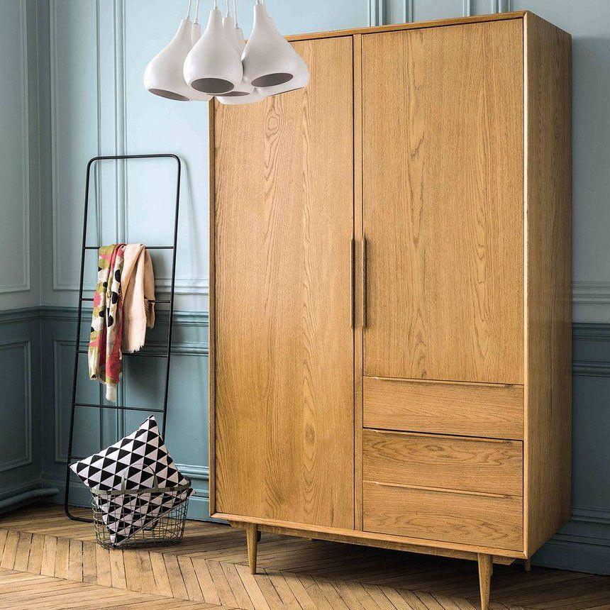 15 Armoires Pour Optimiser Ses Rangements Cote Chambre In 2020 Vintage Armoire Home Decor Bohemian Style Bedrooms