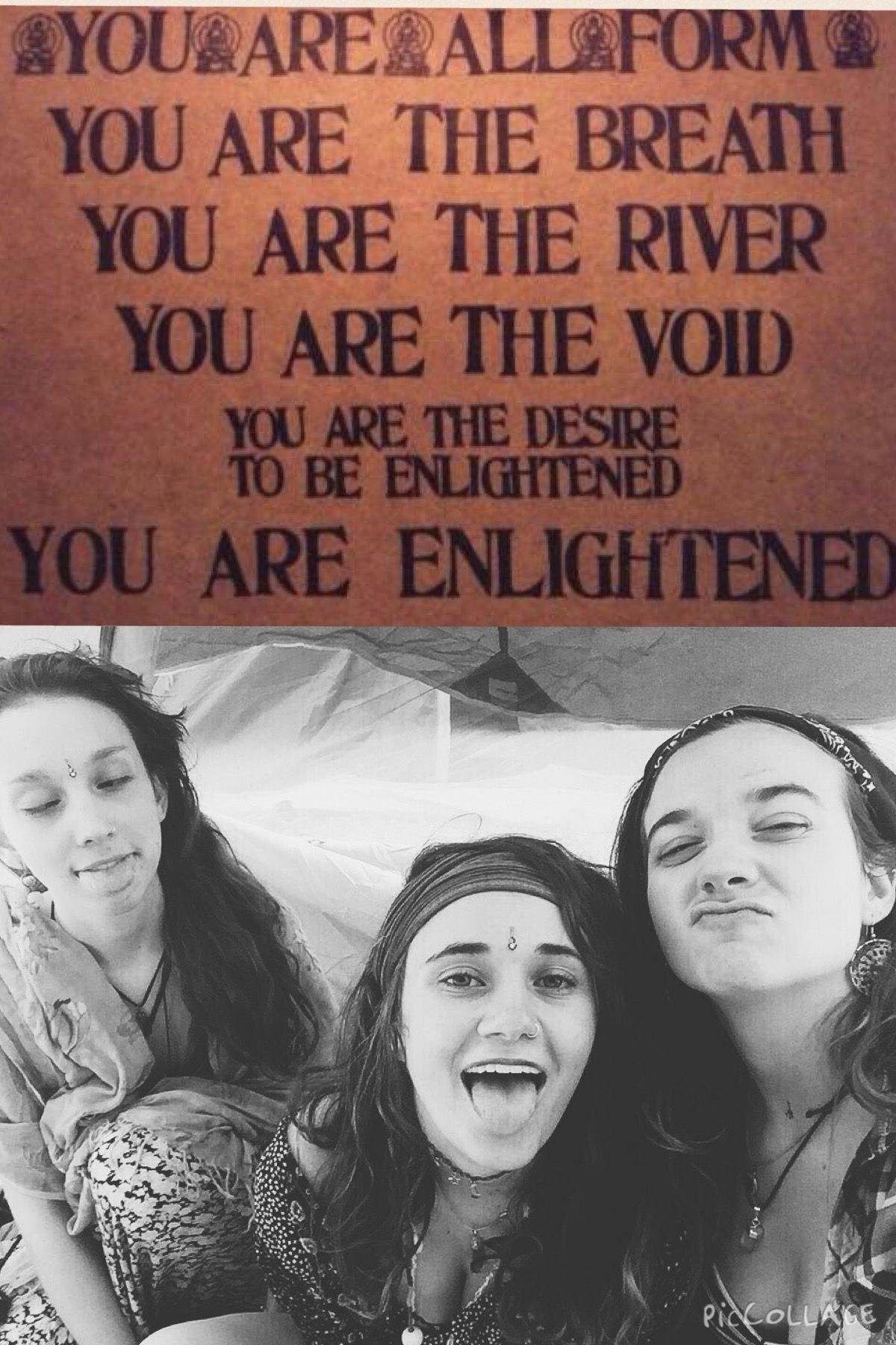 you are the river: you are the void