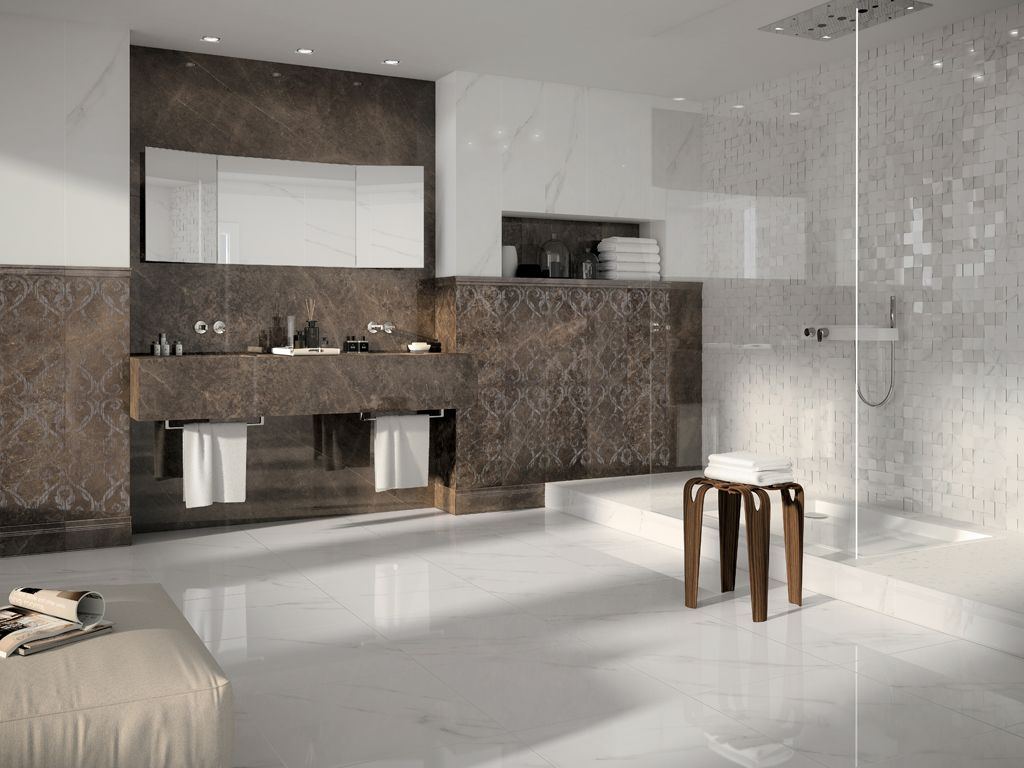 43 best bathroom images on pinterest bathroom ideas bathrooms the mirage jewels collection of italian porcelain tile offers the look and impact of natural stone in a manmade product using state of the art technology dailygadgetfo Gallery