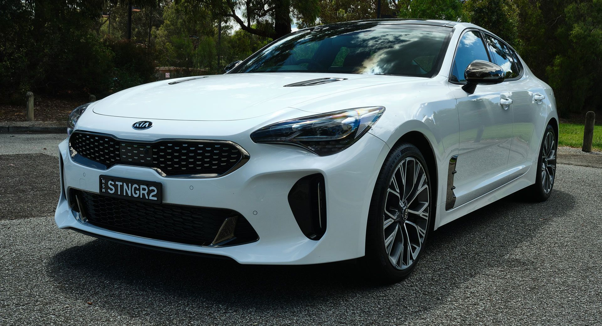 Driven 2020 Kia Stinger 2 0l Gt Line Surprises As A Superb All Rounder Australia Firstdrive Galleries Kia Kiastinger Reviews Kia Stinger Kia Twin Turbo
