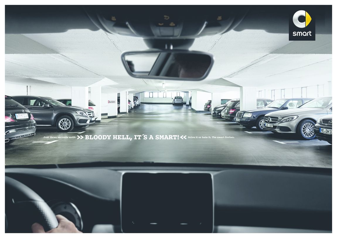 Pin By Tag Wsi On Ads Benz Smart Best Ads Car Advertising