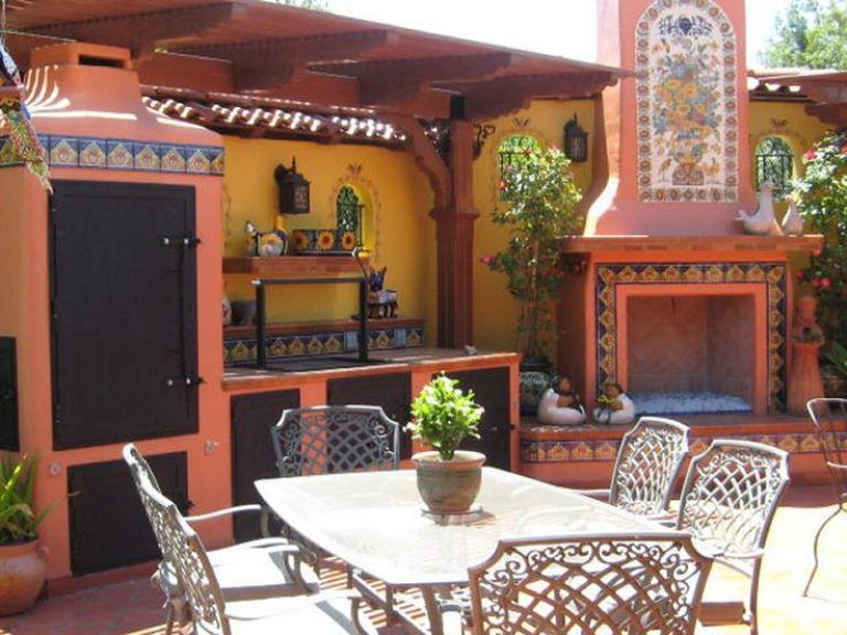 25 Incredible Outdoor Kitchen Ideas With Images Mexican Home Decor Mexican Style Kitchens Mexican Style Homes