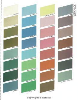 your makeup  clothing color palette  color me beautiful