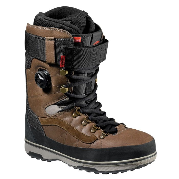 Vans Infuse Snowboard Boots - Combines a classic outdoor style infused with Vans DNA. Equipped with premium materials and performance features, including the new Hybrid BOA Closure System.