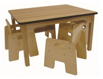 Wooden Toddler Table This 15 Inch High Solid Maple With A Laminate Top Is Designed For Toddlers All The Sy Construction Features Of Our