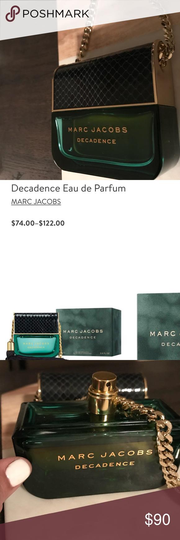 MARC JACOBS DECADENCE PERFUME 3.2 oz pretty much brand new
