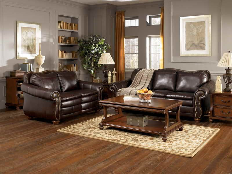 Interior design for Traditional Living Room Furniture with ...