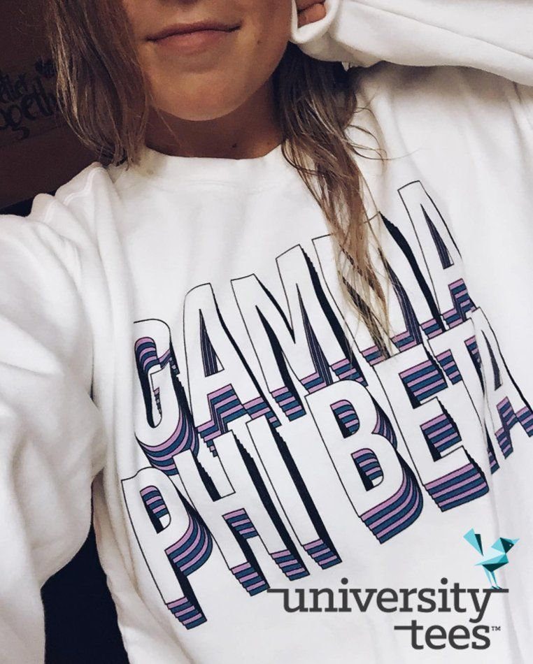 Design Beta Phi By University Block Sweatshirt Gamma Gphi I Made nw8OPyv0mN