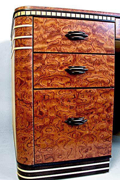 bubinga drawers