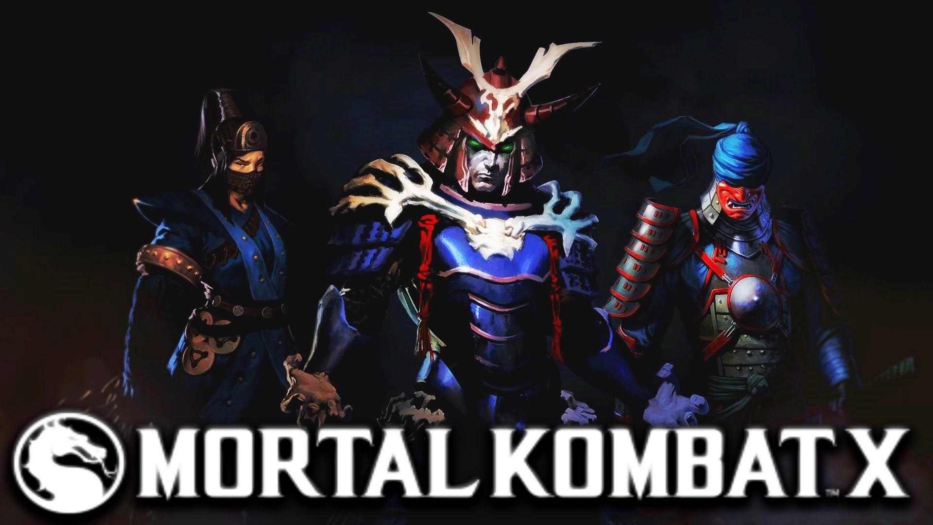 Mortal Kombat X Samurai Skin Pack Ronin Kenshi Samurai Shinnok
