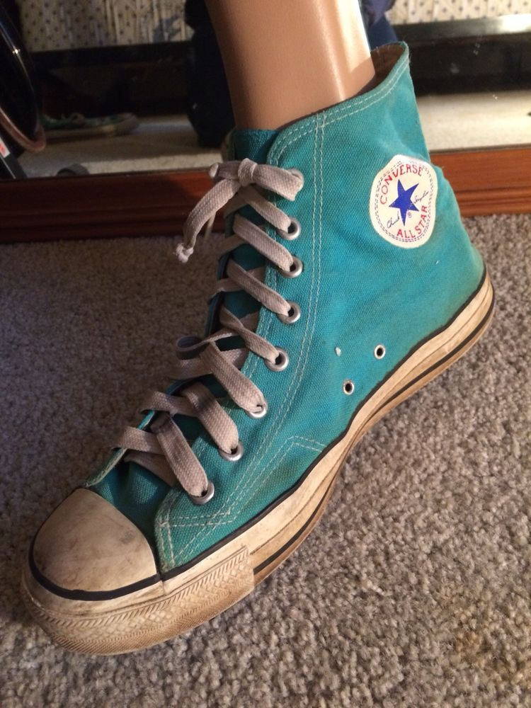 Vintage Converse All Star Shoes Men's Made In Korea Size 10 12