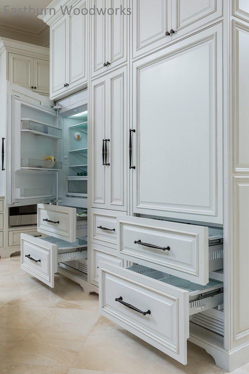 Make Your Kitchen Appliances Blend In With The Rest Of Your Kitchen With Our Custom Built App White Kitchen Appliances Kitchen Appliances Design Luxury Kitchen