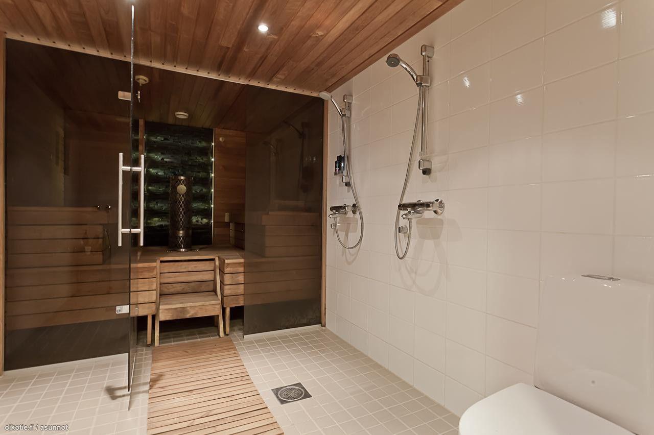 kylpyhuone + sauna