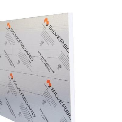 Silverboard 1 In X 48 In X 108 In R 5 0 Radiant Acoustic Tongue And Groove Stc19 Wall Sheathing Insulation Sheets Tongue And Groove Slab Insulation