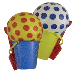 Large Beach Set in a Net Bag Assorted Colours | Peeks