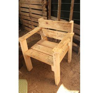 Silla De Madera De Palets 12214422 Ebay Anuncios Furniture