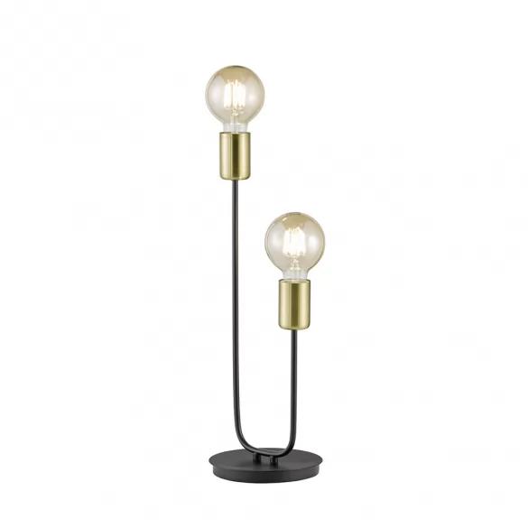 Tischlampe Elegant Mit 2 Strahlern Und 45 Cm Hohe Kostenloser Versand Tischlampen Led Und Lampen