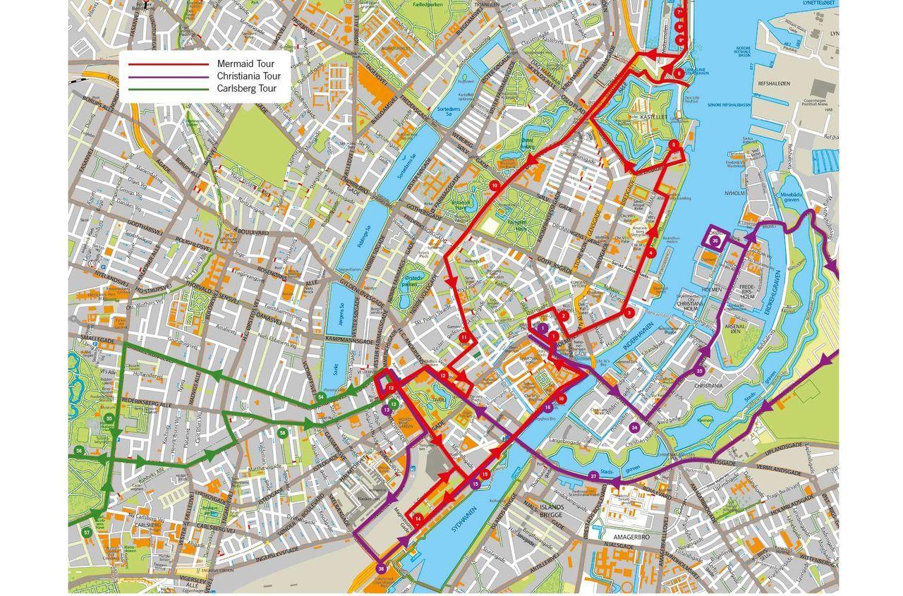 hop-on hop-off bus copenhagen | official city sightseeing