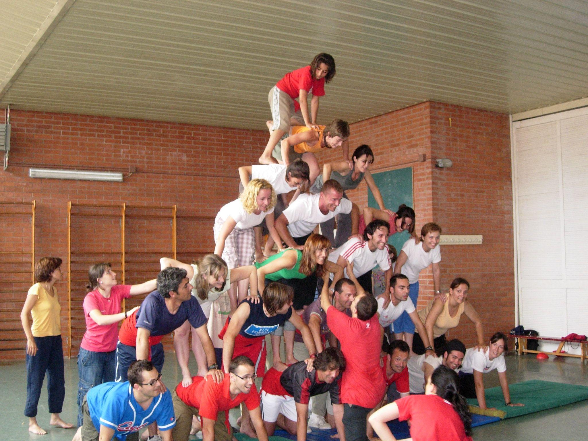 Cohesió d'equip i treball cooperatiu. Tots ens necessitem per no caure!