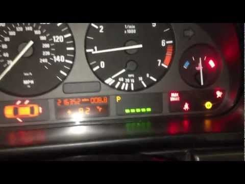 How To Reset Your Oil Service Light 97 03 Bmw 5 Series E39 528i