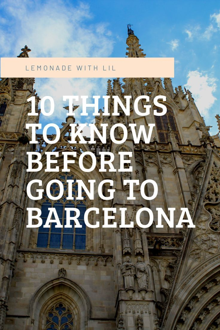 You'll love #barcelona but make sure you do some #travel research before you go! #spain