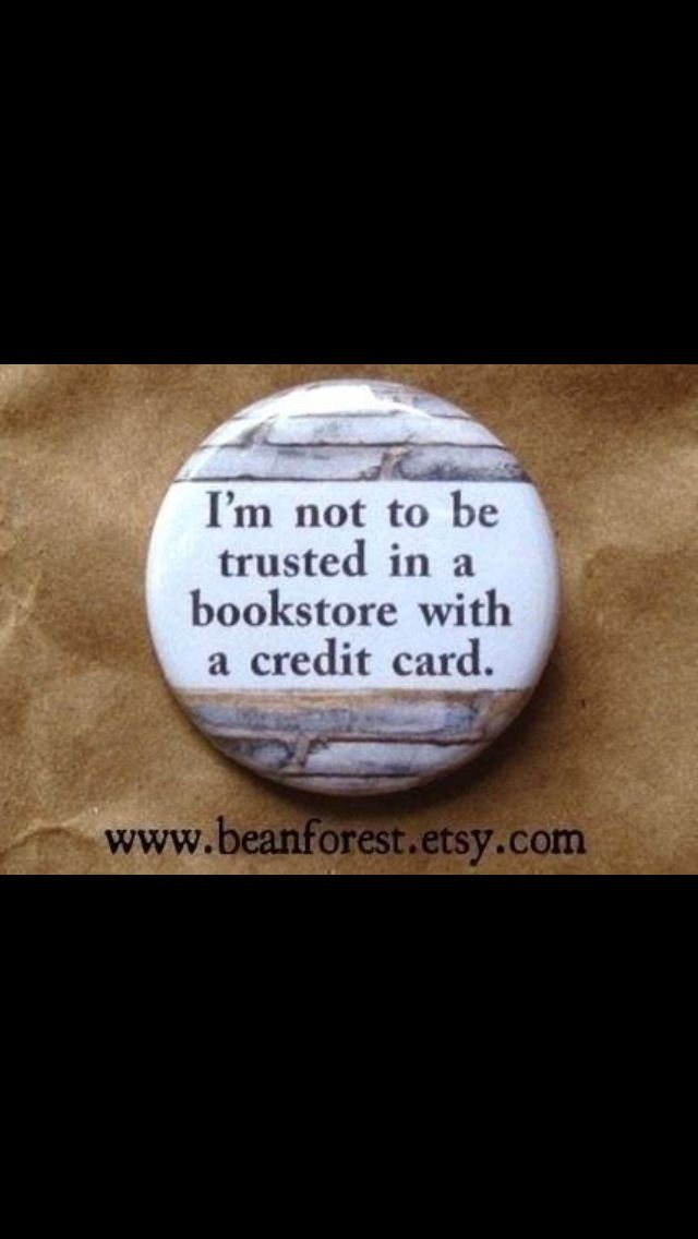Or me in a library with a library card