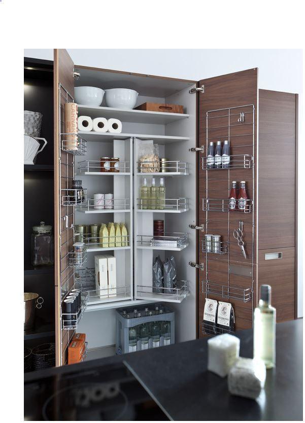 Great Kitchen Storage Design | Kitchens | Pinterest | Vorratsschrank ...