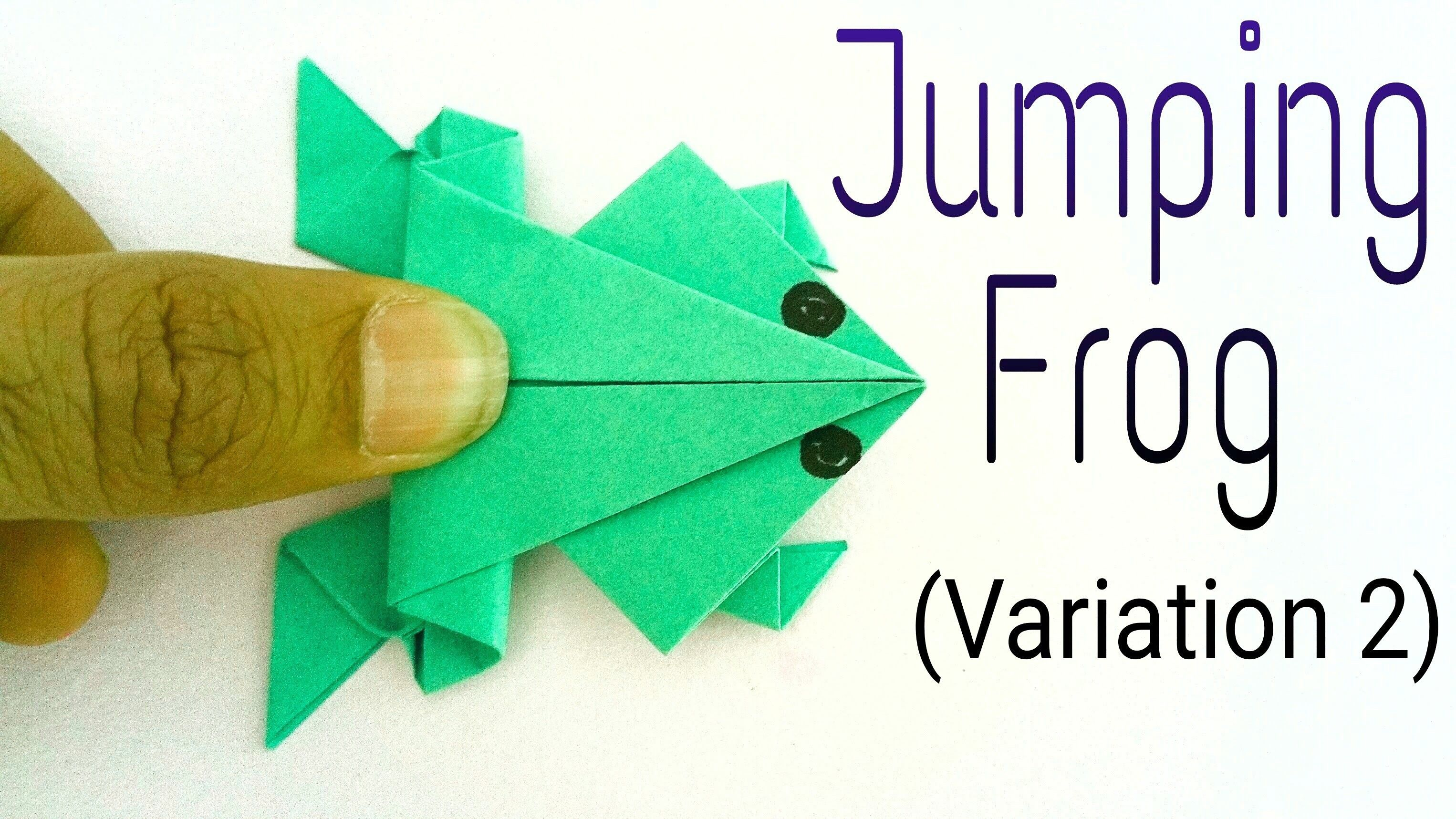 Leap frog math game frog origami origami frogs and math jeuxipadfo Image collections
