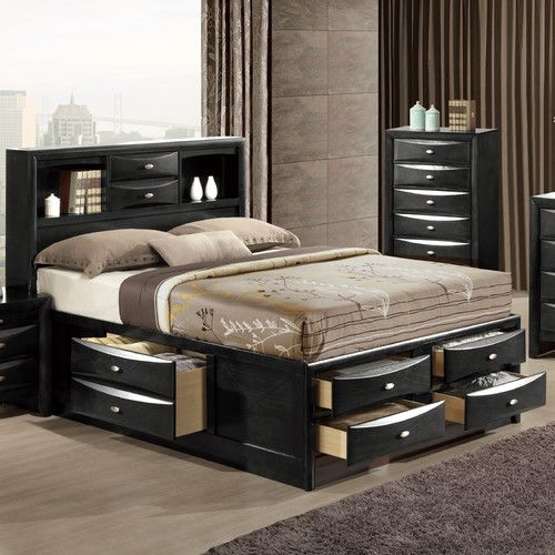 Wooden Platform Bed, Wayfair Queen Platform Bed With Storage