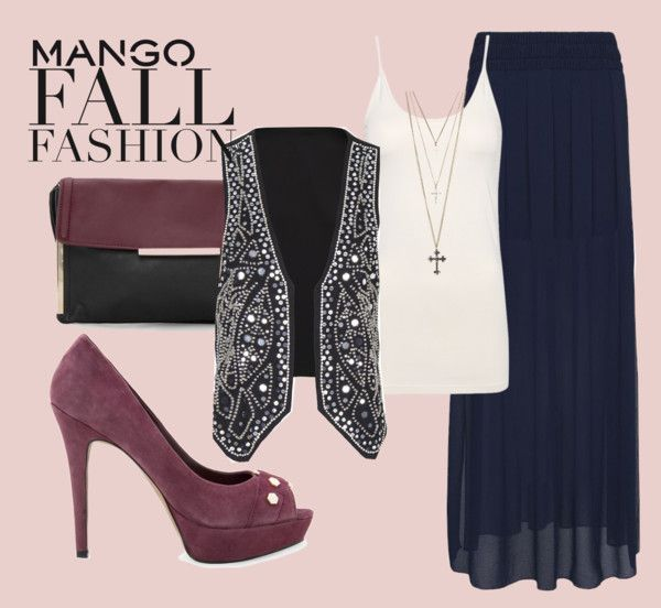 """""""Winter Aesthetic with Mango and That's Chic"""" by thfashionista ❤ liked on Polyvore"""
