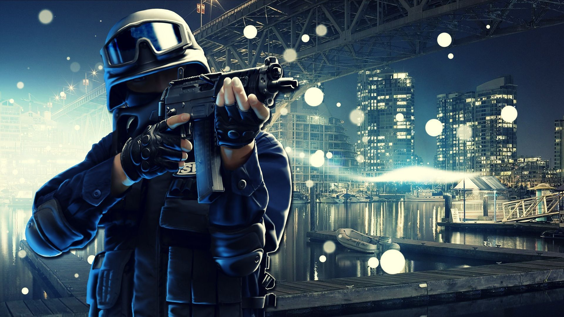 Swat Army Point Blank Online Game Wallpaper HD Image Picture Widescreen For Desktop
