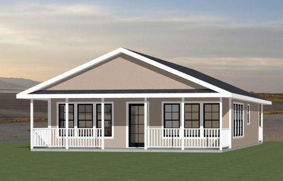 28x36 House -- #28X36H1C -- 1,008 Sq Ft