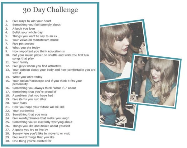 """""""- 3O day challenge. •"""" by taylor-alison-swift-anonxo ❤ liked on Polyvore"""